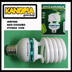 Lámpara Bajo Consumo  105W (LUZ FRIA) SYLVANIA